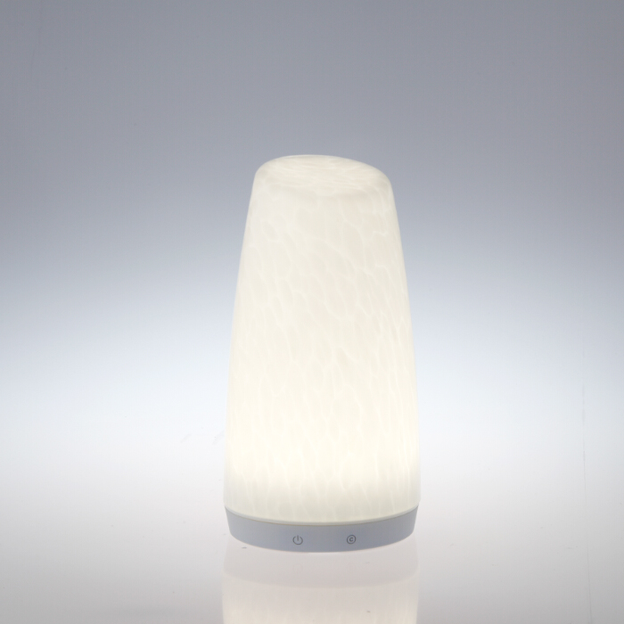 Bluetooth Remote Control Pattern Glass Battery Operated Led Table Lamps