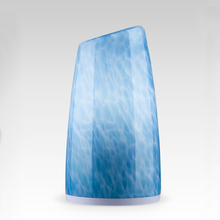 Cordless bullet shape table lamp(Blue)