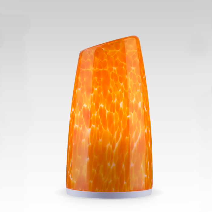 Cordless bullet shape table lamp(orange)