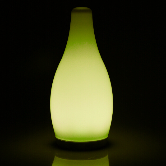 Cordless color changeable bottle shape table lamp(Opal)
