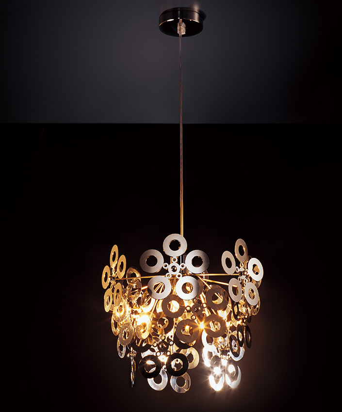 Modern Style Aluminum Lamp Body Material Decorative Chandelier Pendant Lamp