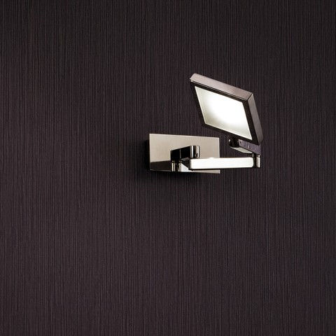 Square Stainless Steel Polished led Wall Lamp