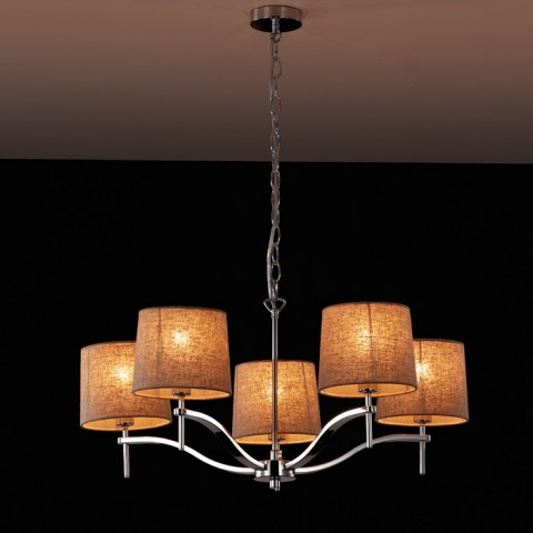 Stainless Steel Polished grace Pendant lighting