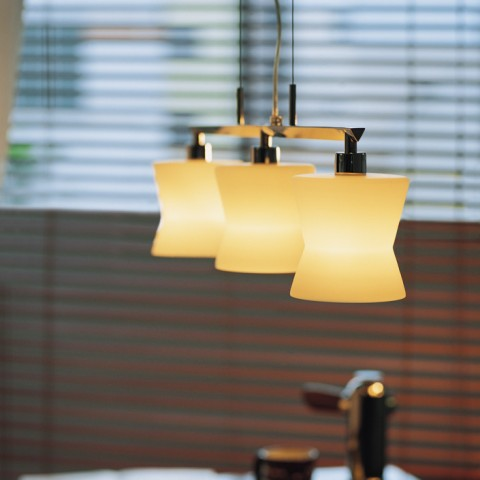 Stainless Steel Polisshed Glass Restaurant Pendant lightings