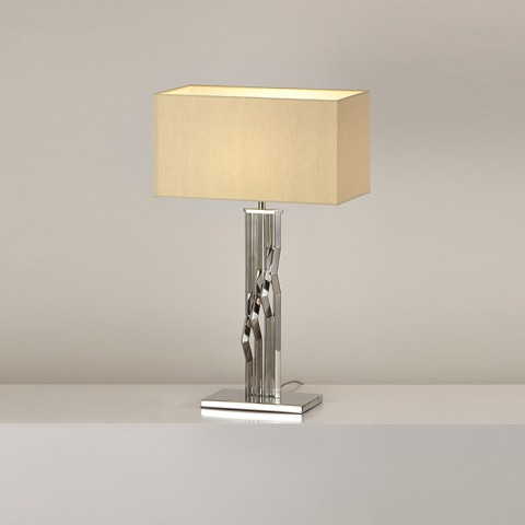 Bedroom Decoration square shade table lamp