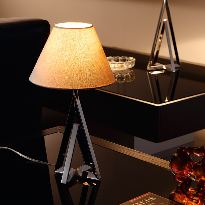 Power outlet 5 Star Luxury Hotel Project Designer Table Lamp