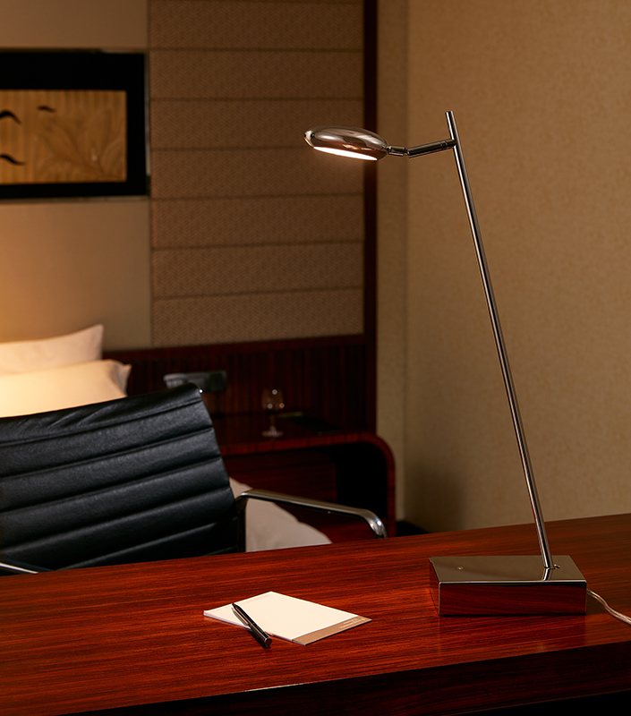 Iron Material Round Head Led Energy Saving Reading Table Lamp