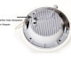 6w&12w&18w round led panel light ,900lm Glass round panel light (5)