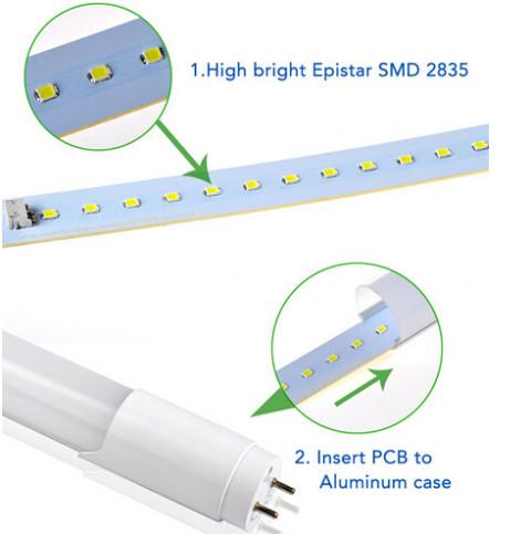 High brightness smd 3528 T8 led tube light(DL-T02) (1)