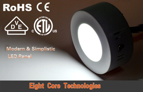 Modern design surface mounted 6-18w round led panel light 12(1)