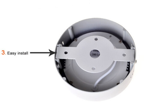 Modern design surface mounted 6-18w round led panel light (5)