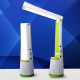Musical battery-operated led reading light with speaker