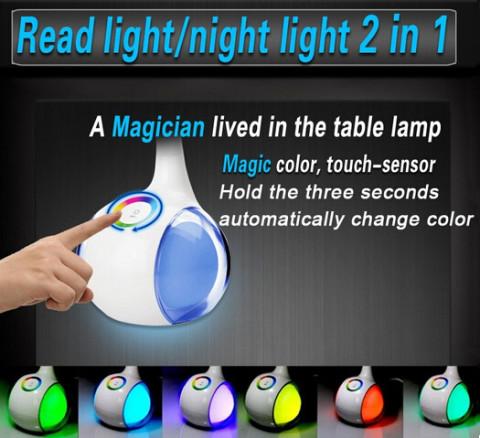 NEW Design fashionable touch sensor reading desk lamp (2)