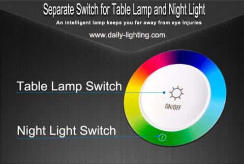 NEW Design fashionable touch sensor reading desk lamp (3)