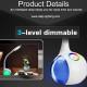 NEW Design fashionable touch sensor reading desk lamp (4)