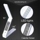battery operated led table reading lamp