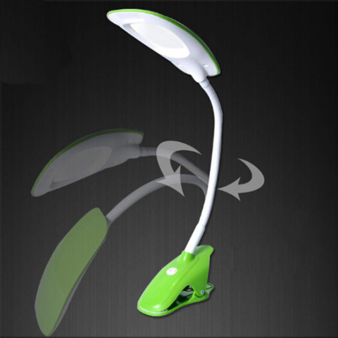 LED table lamps with gooseneck and fixing clip (DL-G01GF)