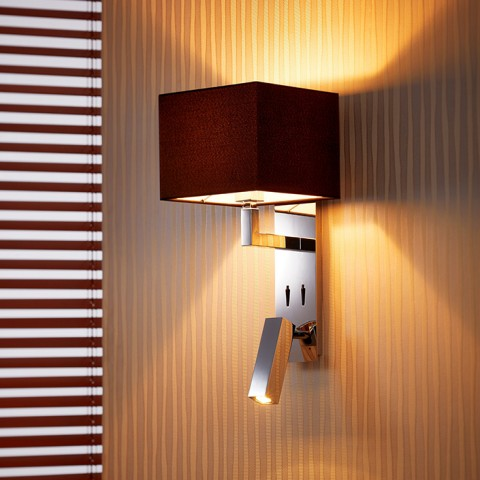 2-in-1 Wall Light and Reading Light