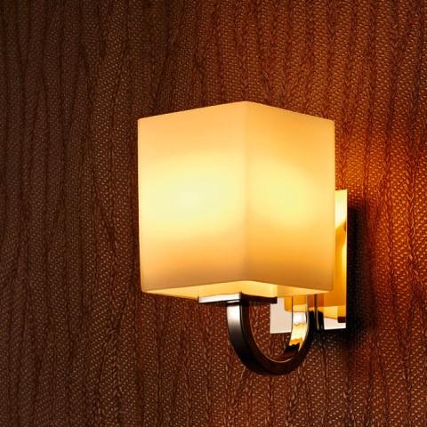 European-style cubic corridor wall light