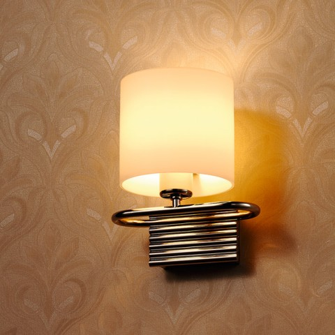 Opal Glass decorative indoor modern wall lamp