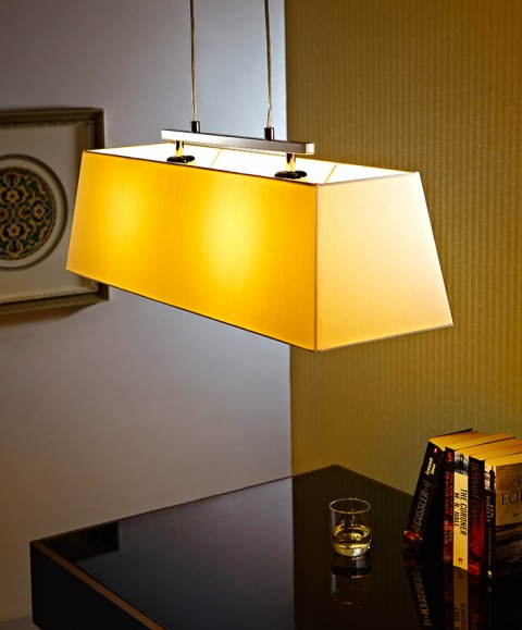 Rectangular Taper Bar pendant lightings