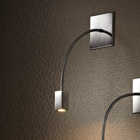 Square Recessed gooseneck Wall Lamp