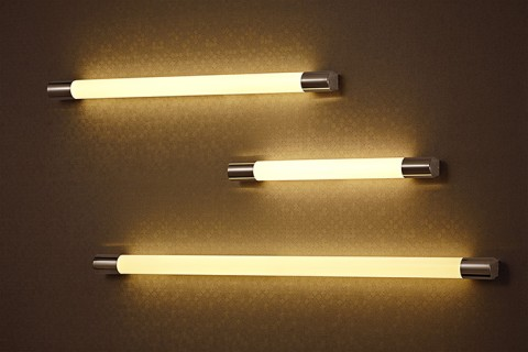 T5 Stainless Steel Polished Round Wall Lamps