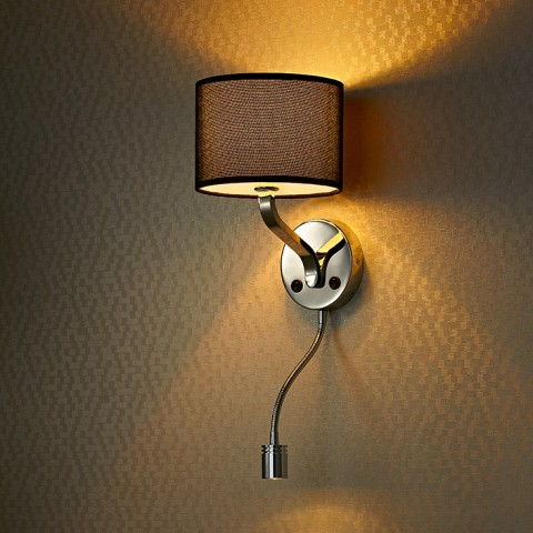 hotel led headboard reading wall lamp
