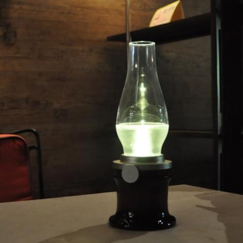 Kerosene-like electric Battery Operated LED Lamp