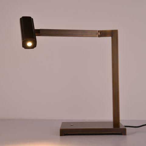 Terrific Hotel Guestroom Black Bronze Finish Adjustable Led Desk Interior Design Ideas Inesswwsoteloinfo