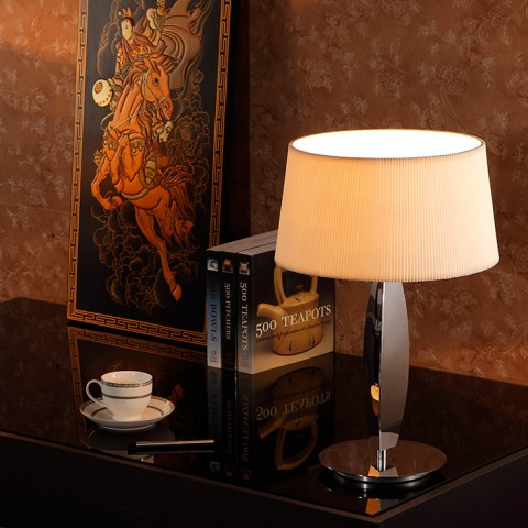 Stainless Steel Home and hotel Table Lamp