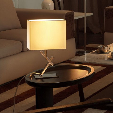 Stainless Steel residential bedside table lamp