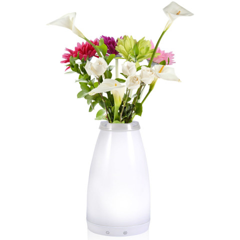 battery operated rechargeable vase table lighting