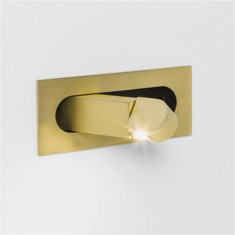 Hotel Guest Room Bedside Recessed Led Reading Wall Light