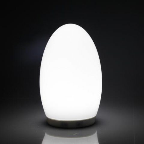 Wireless Battery Powered Egg Shape Restaurant Decorative Led Table Lamp - Led table lights for restaurants