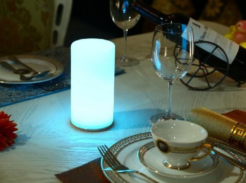 Remote Control Color Changeable Home Club Dining Table Light